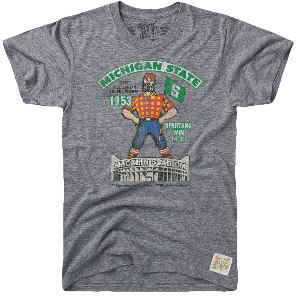 Michigan State 1953 Tri-Blend Tee