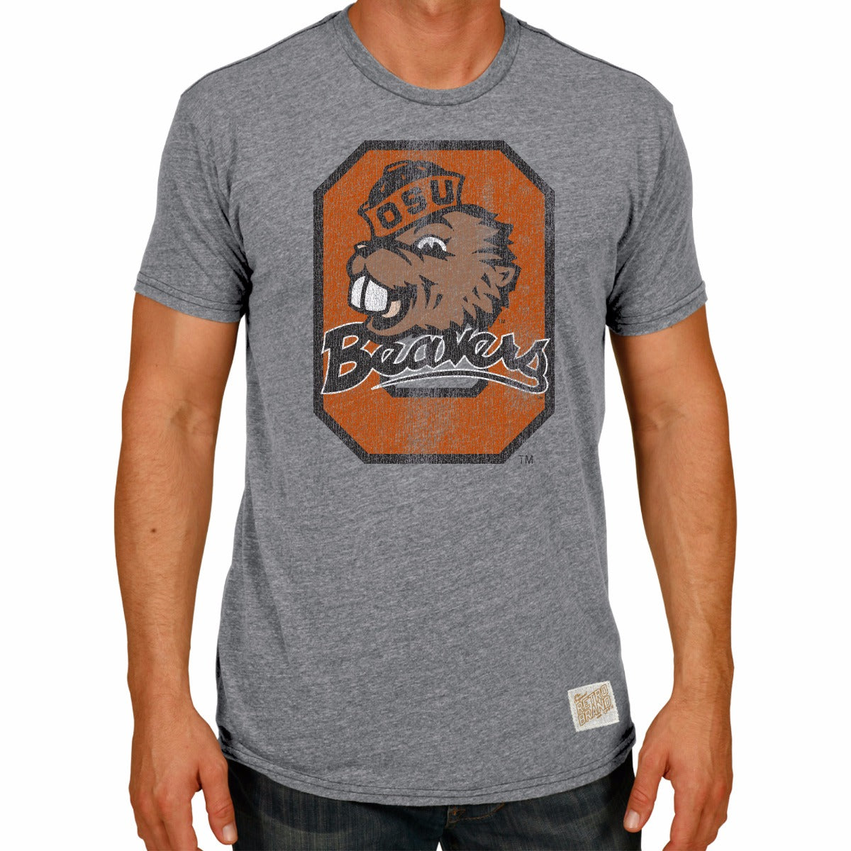 Oregon State Beavers Tri-Blend Unisex Tee