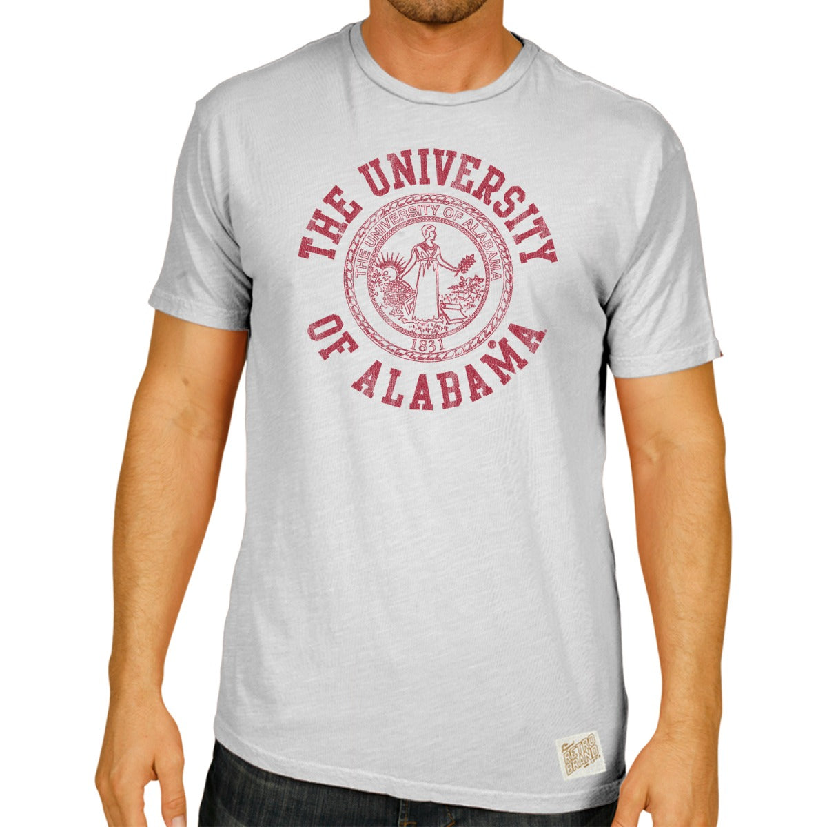 Alabama 100% Cotton Men's Tee