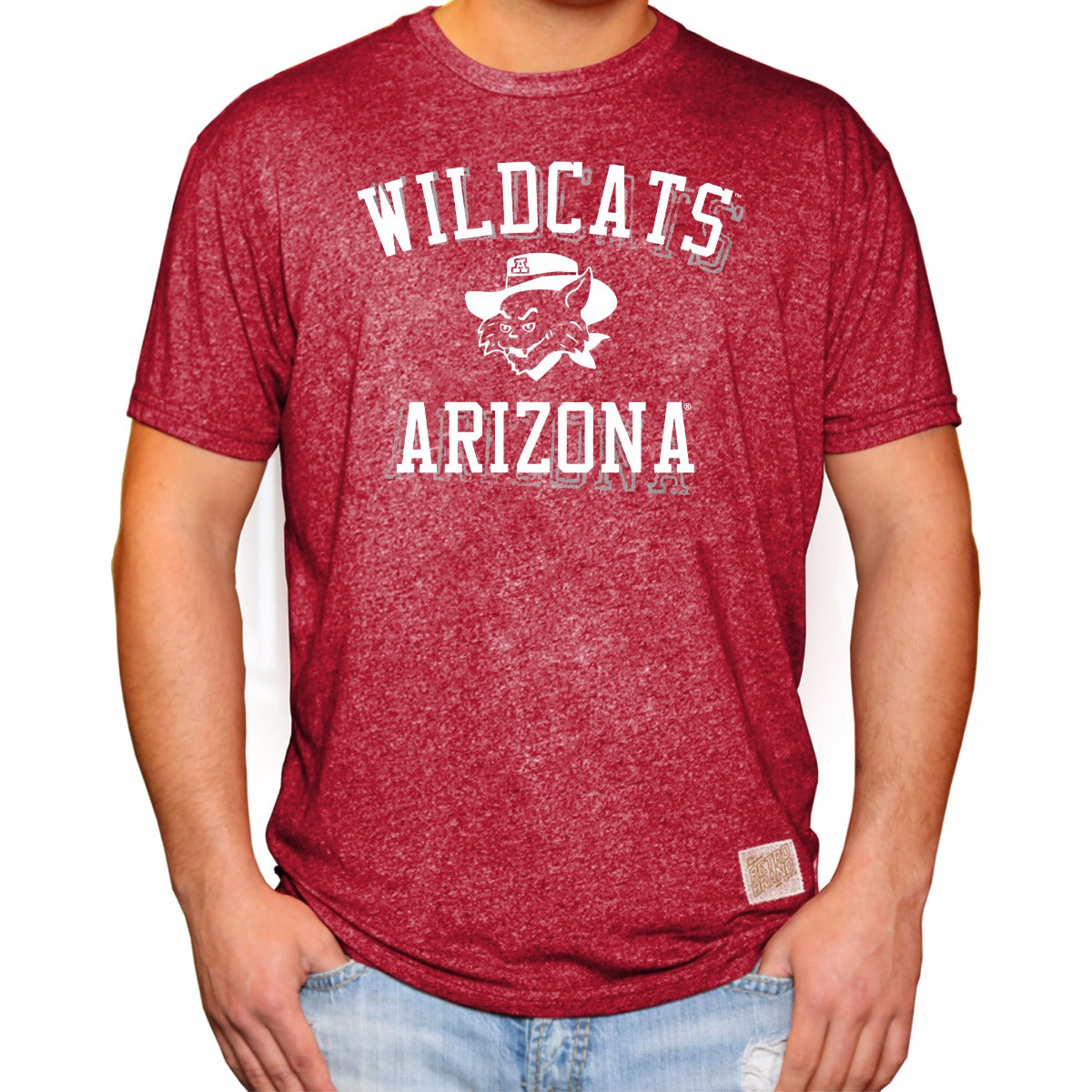 Arizona Wildcats Men's Short Sleeve Mock Twist Tee