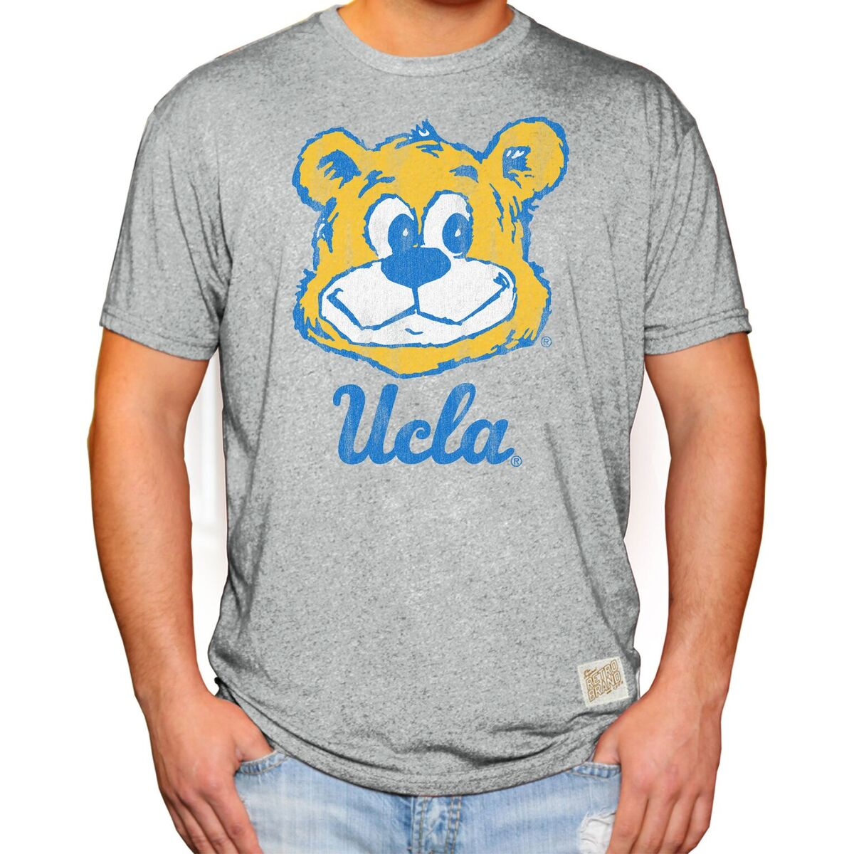 UCLA Bruins Men's Short Sleeve Mock Twist Tee