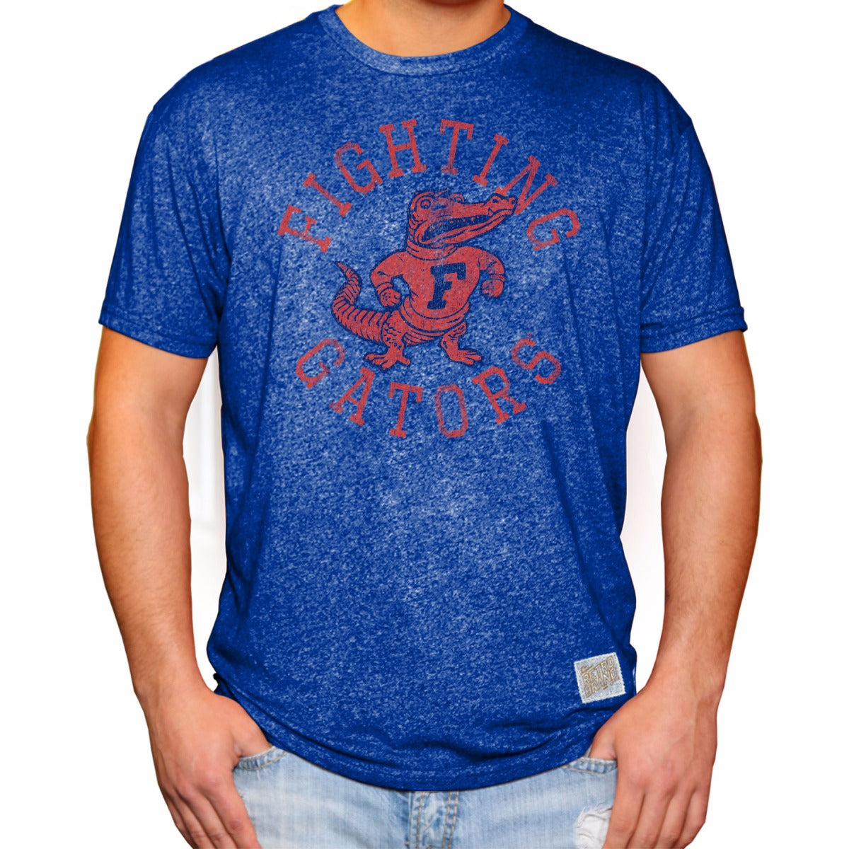 Florida Gators Men's Short Sleeve Mock Twist Tee