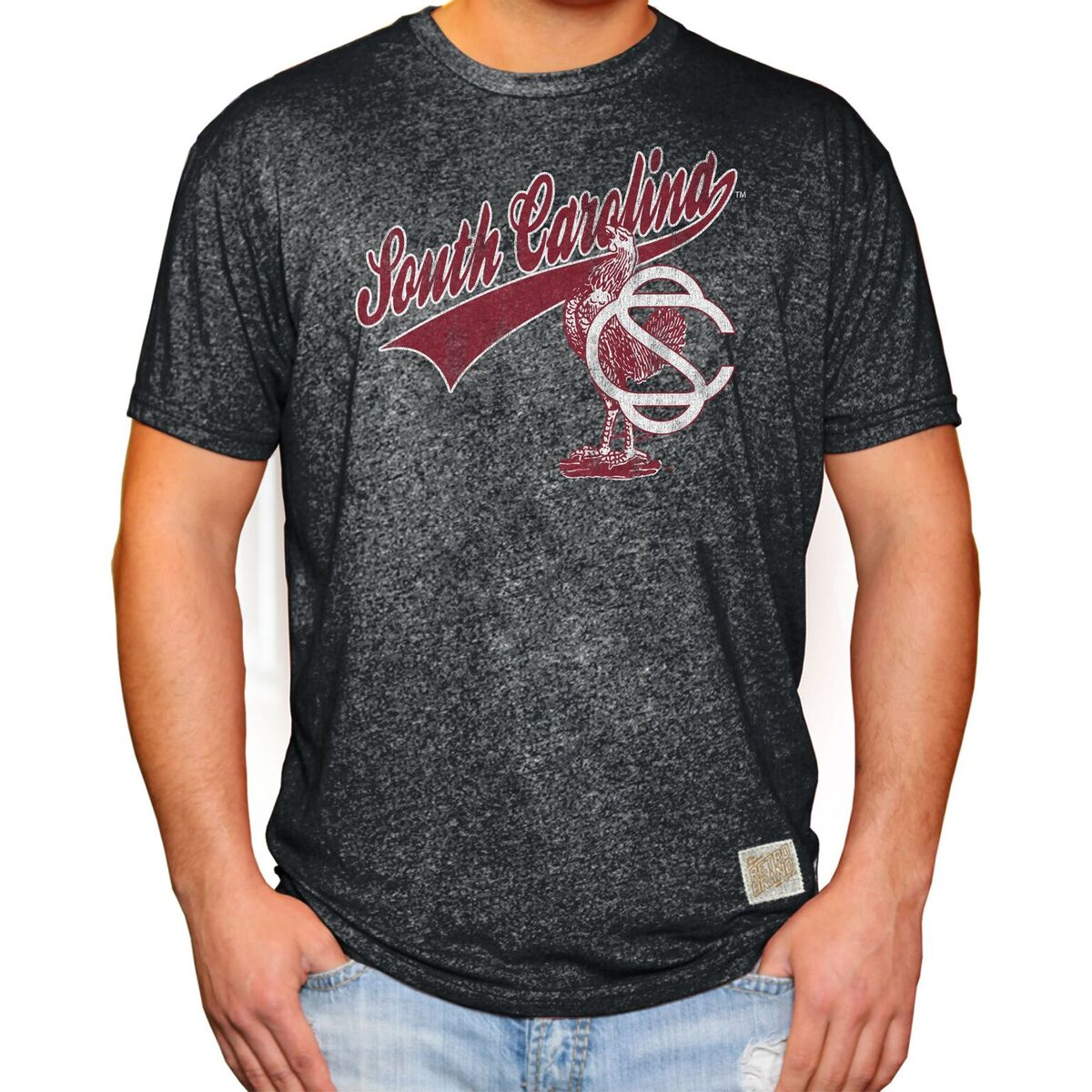 South Carolina Gamecocks Men's Short Sleeve Mock Twist Tee