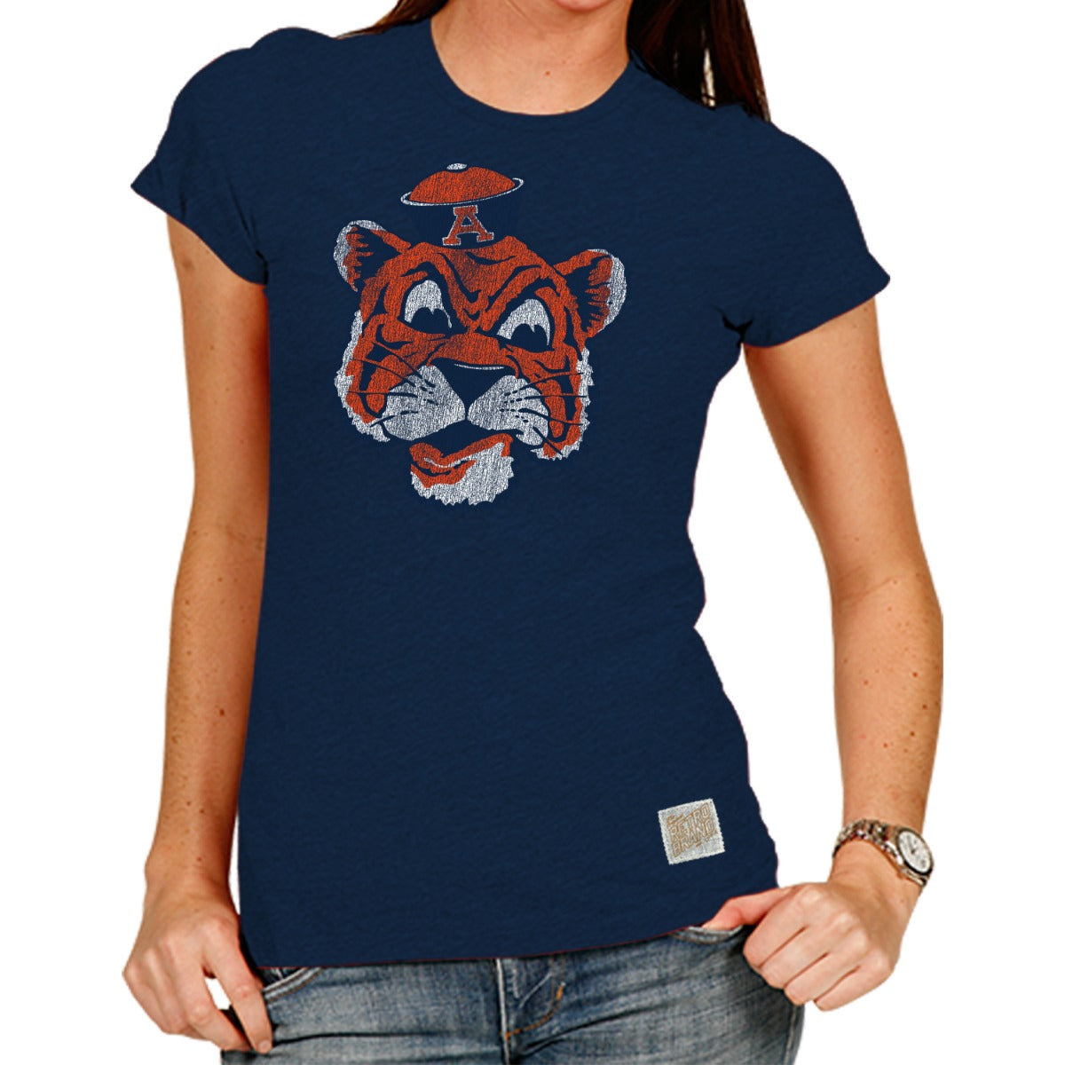 Auburn State Women's 100% Cotton Tee