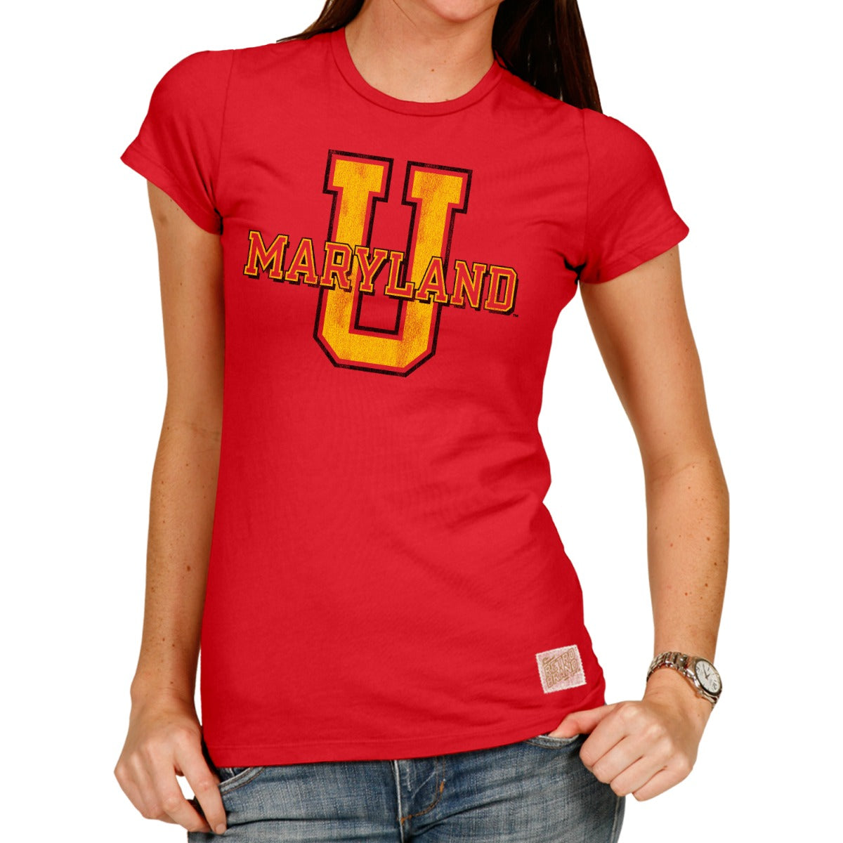 Maryland Women's 100% Cotton Tee