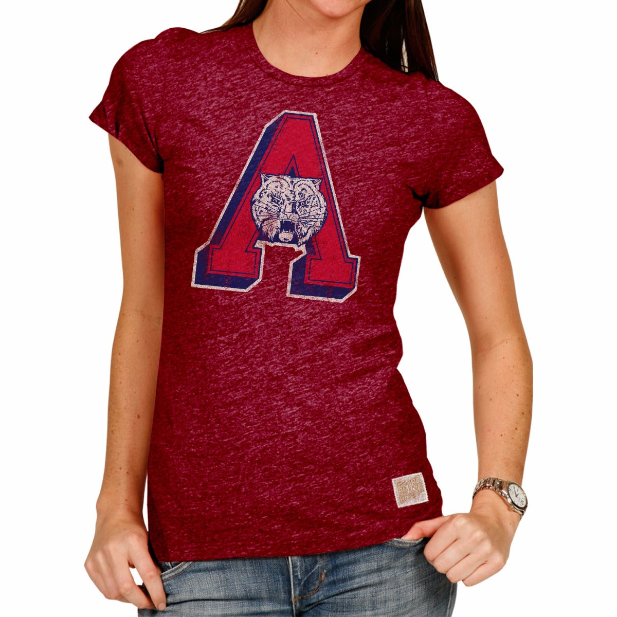 Arizona Wildcats Women's Short Sleeve Vintage Tee