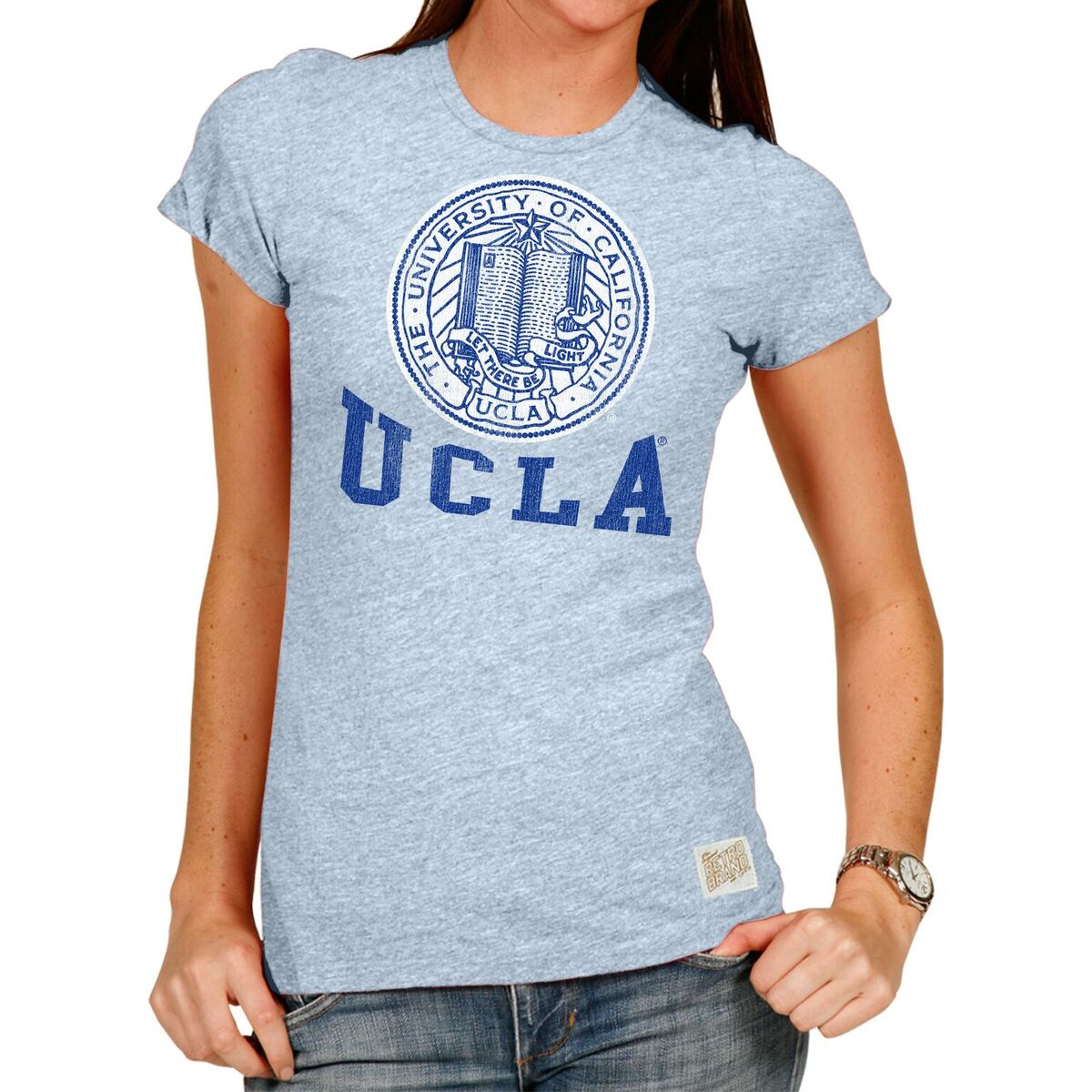 UCLA Bruins Women's Short Sleeve Vintage Tee