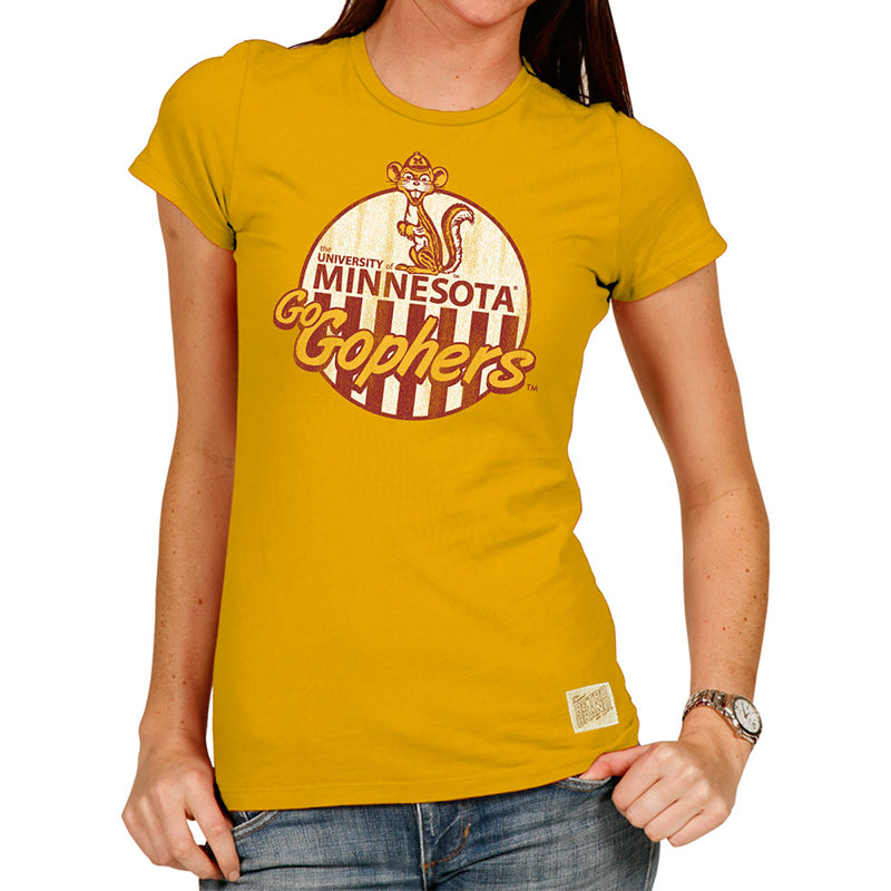 Minnesota Gophers Women's Cotton crew tee