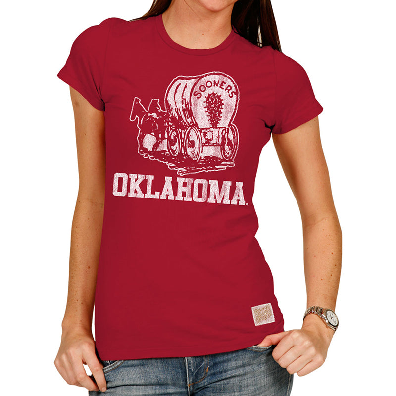 Oklahoma Sooners Women's Cotton crew tee