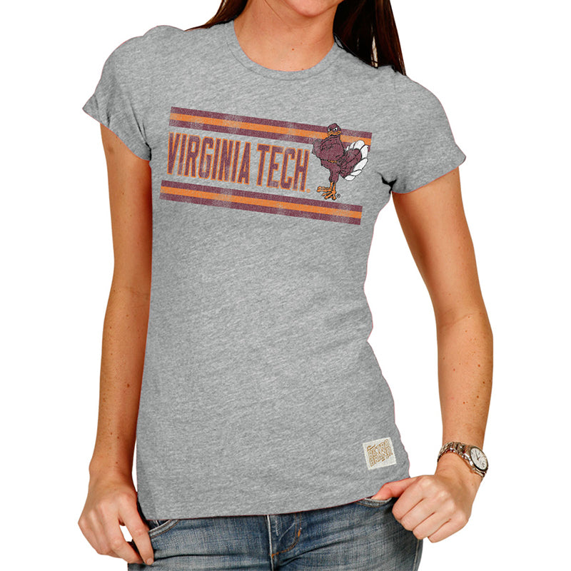 Virginia Tech Hokies Women's Tri-blend crew tee