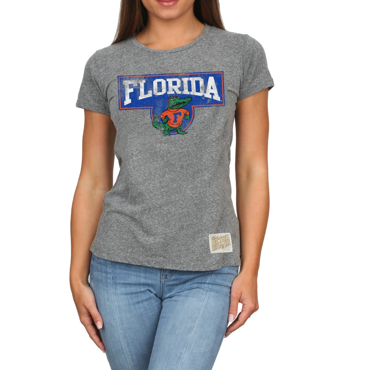 Florida Women's Tri Blend Crew Neck Tee