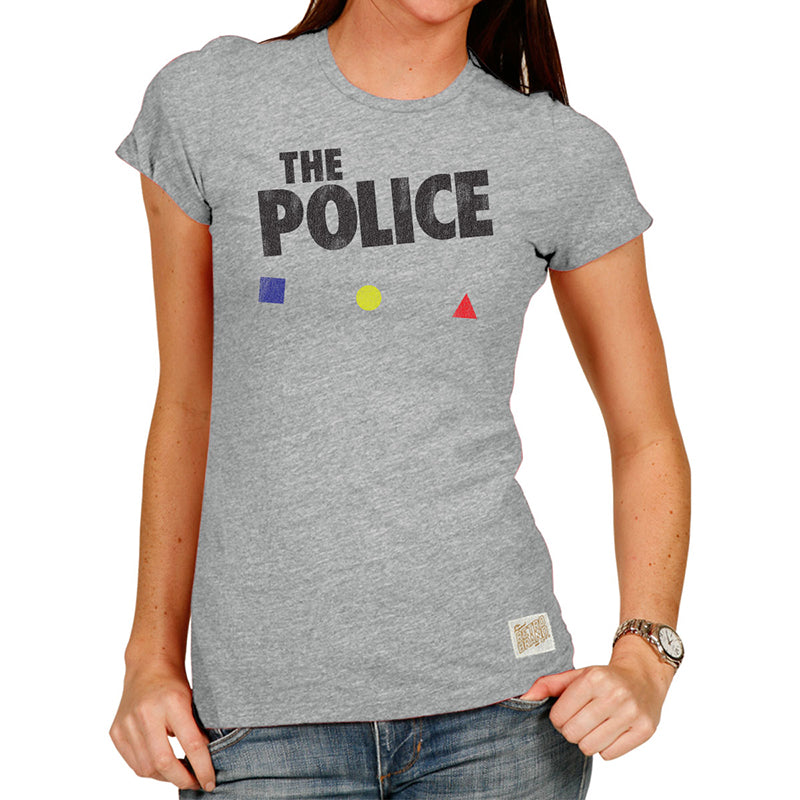 The Police Women's Tri-blend crew tee