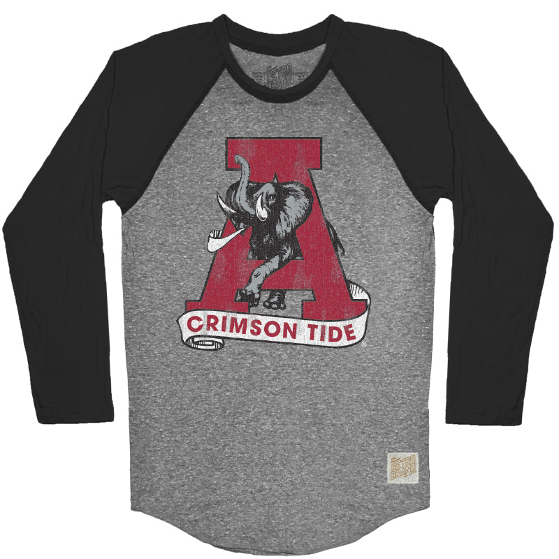 Alabama Men's Contrast Raglan