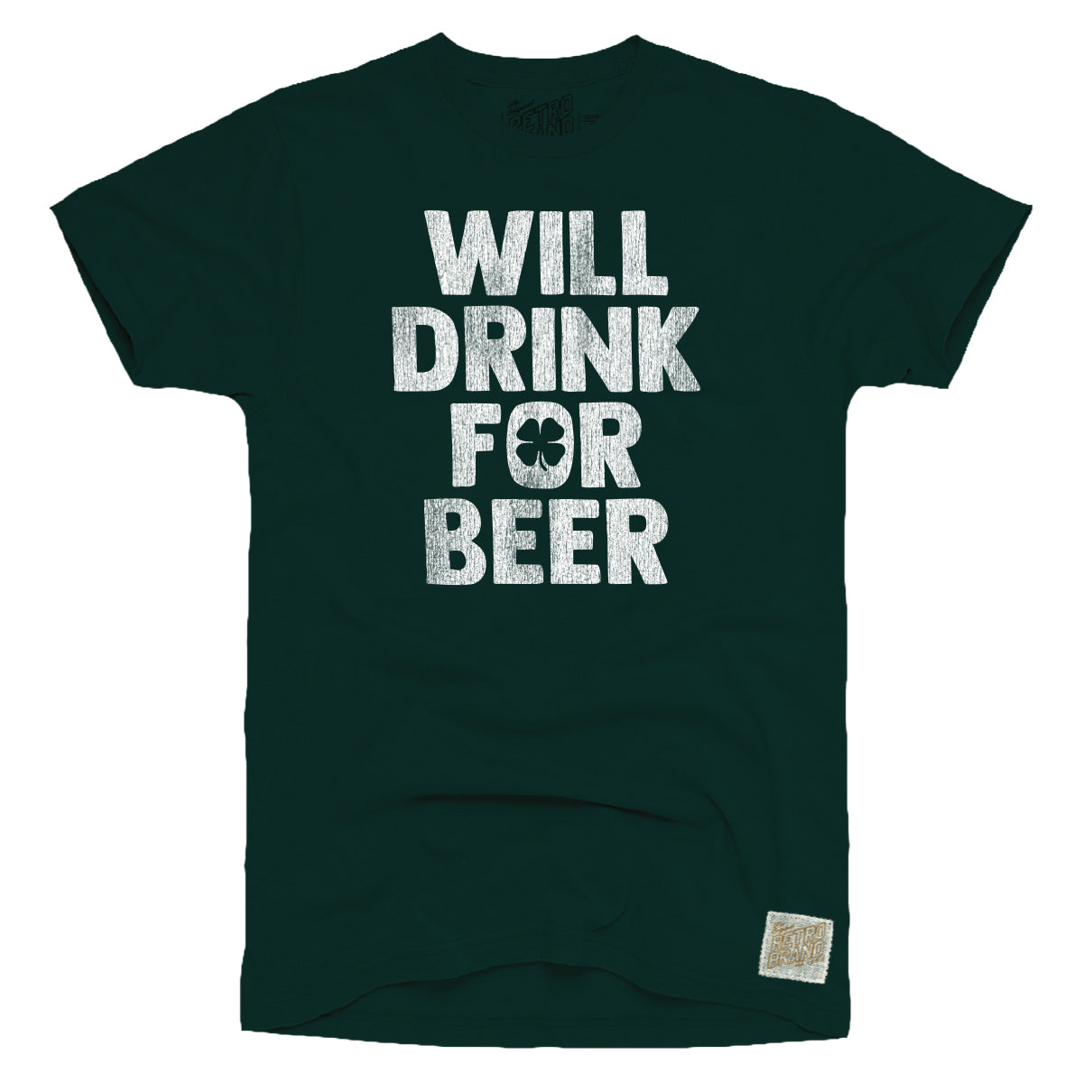 Will Drink For Beer Men's Tee
