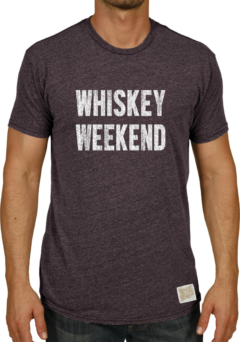 Whiskey Weekend Tri-Blend Tee