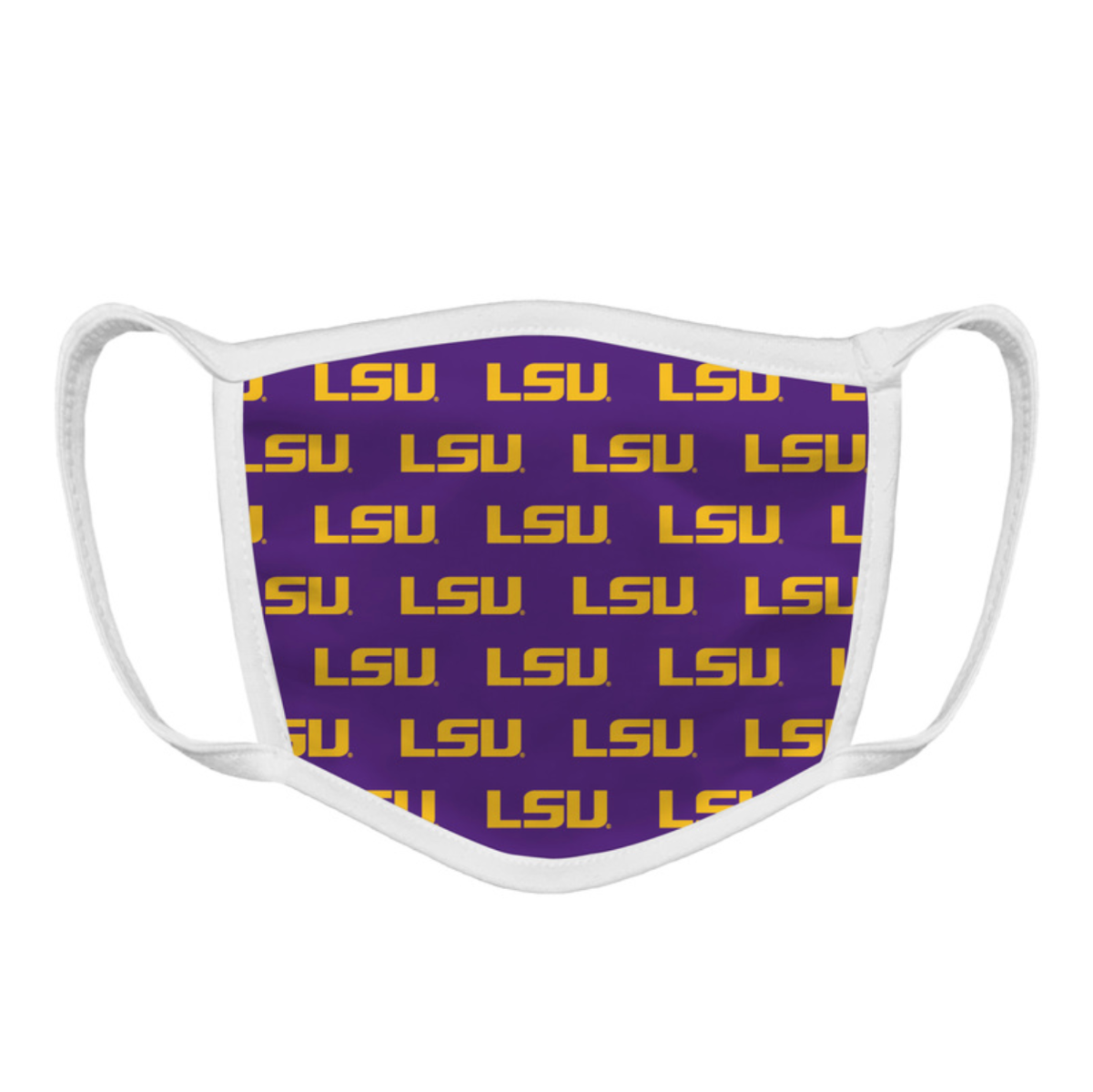 LSU Tigers Pride Face Mask