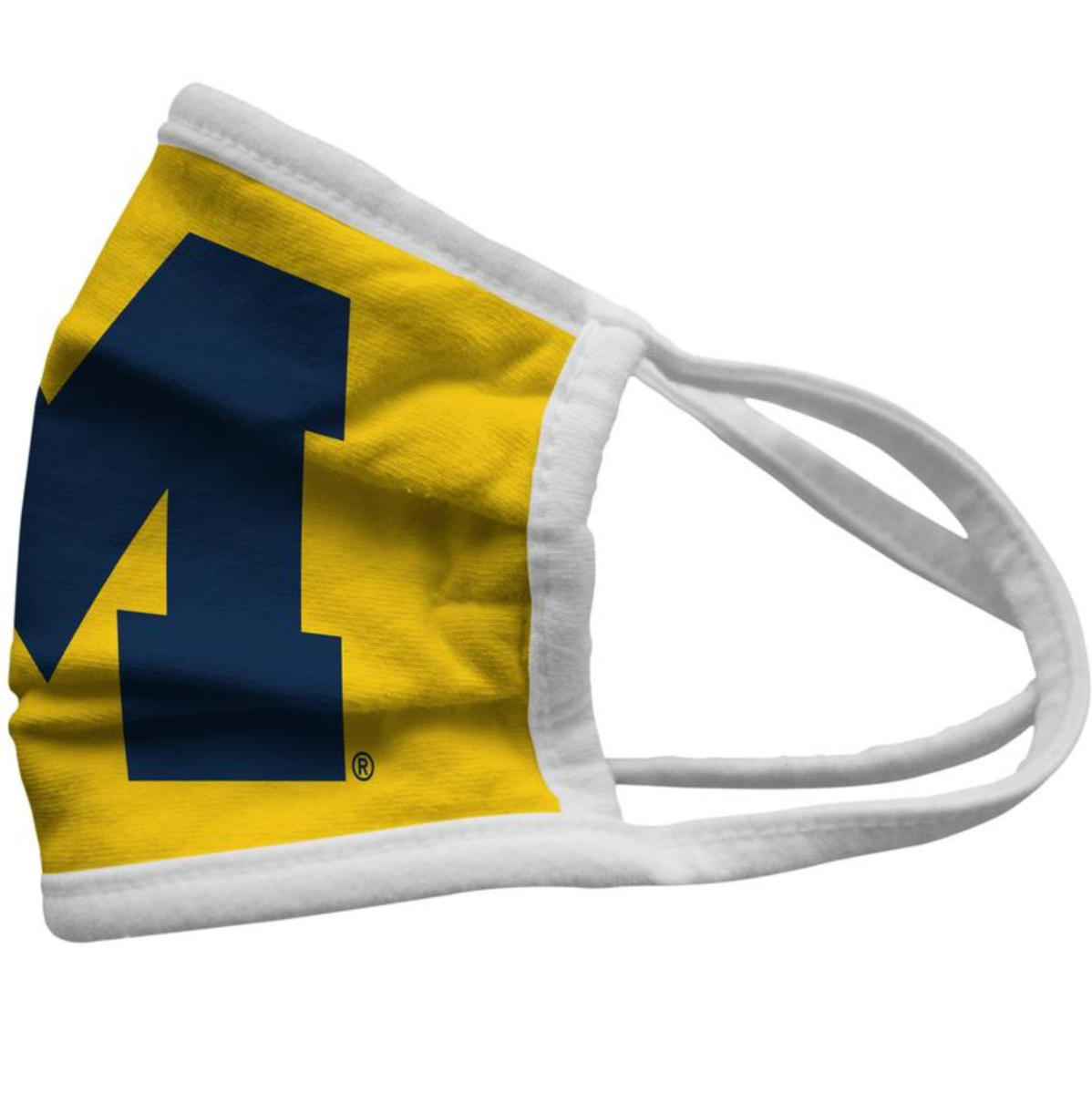 Michigan Wolverines U of M Face Mask