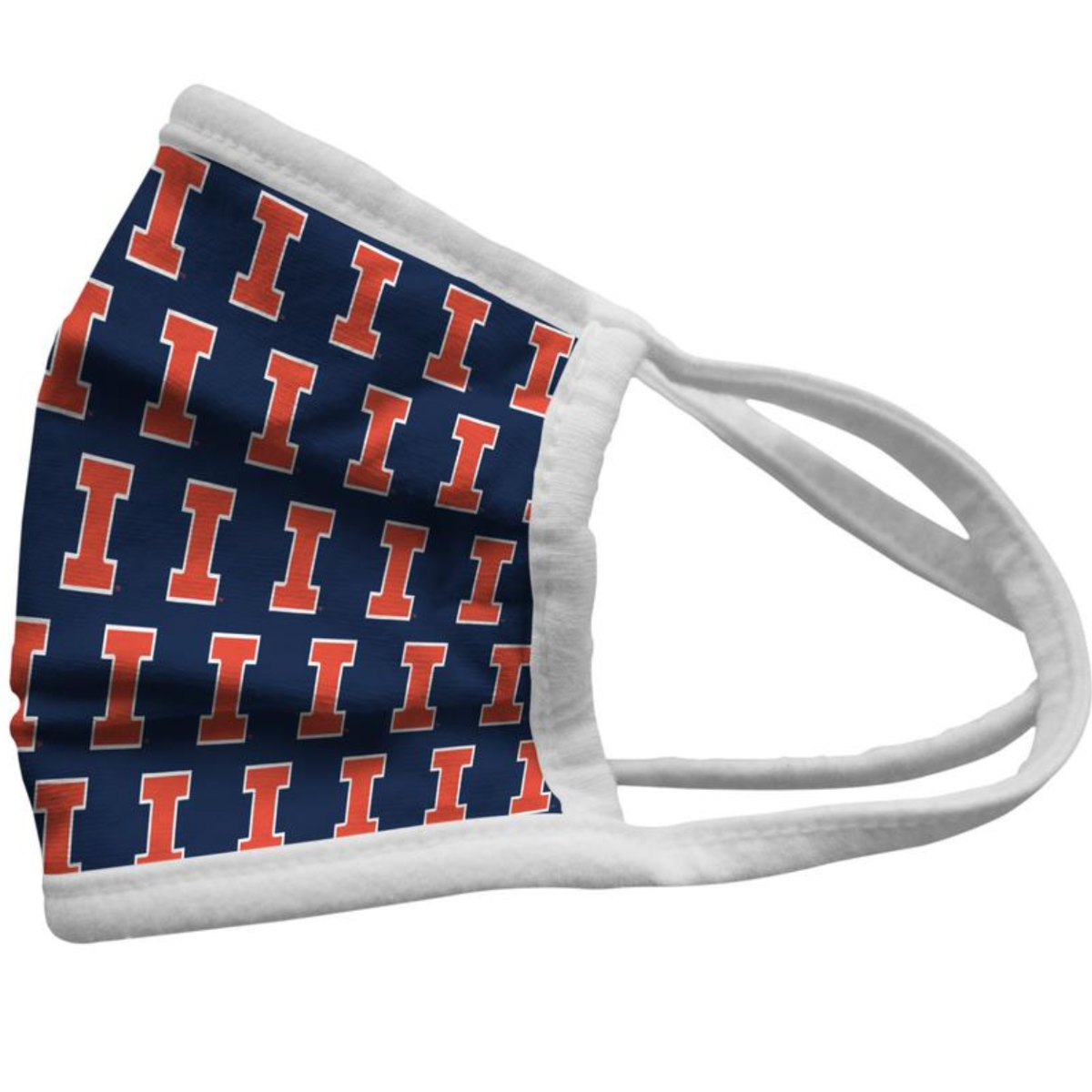 Illinois Fighting Illini Pride Face Mask