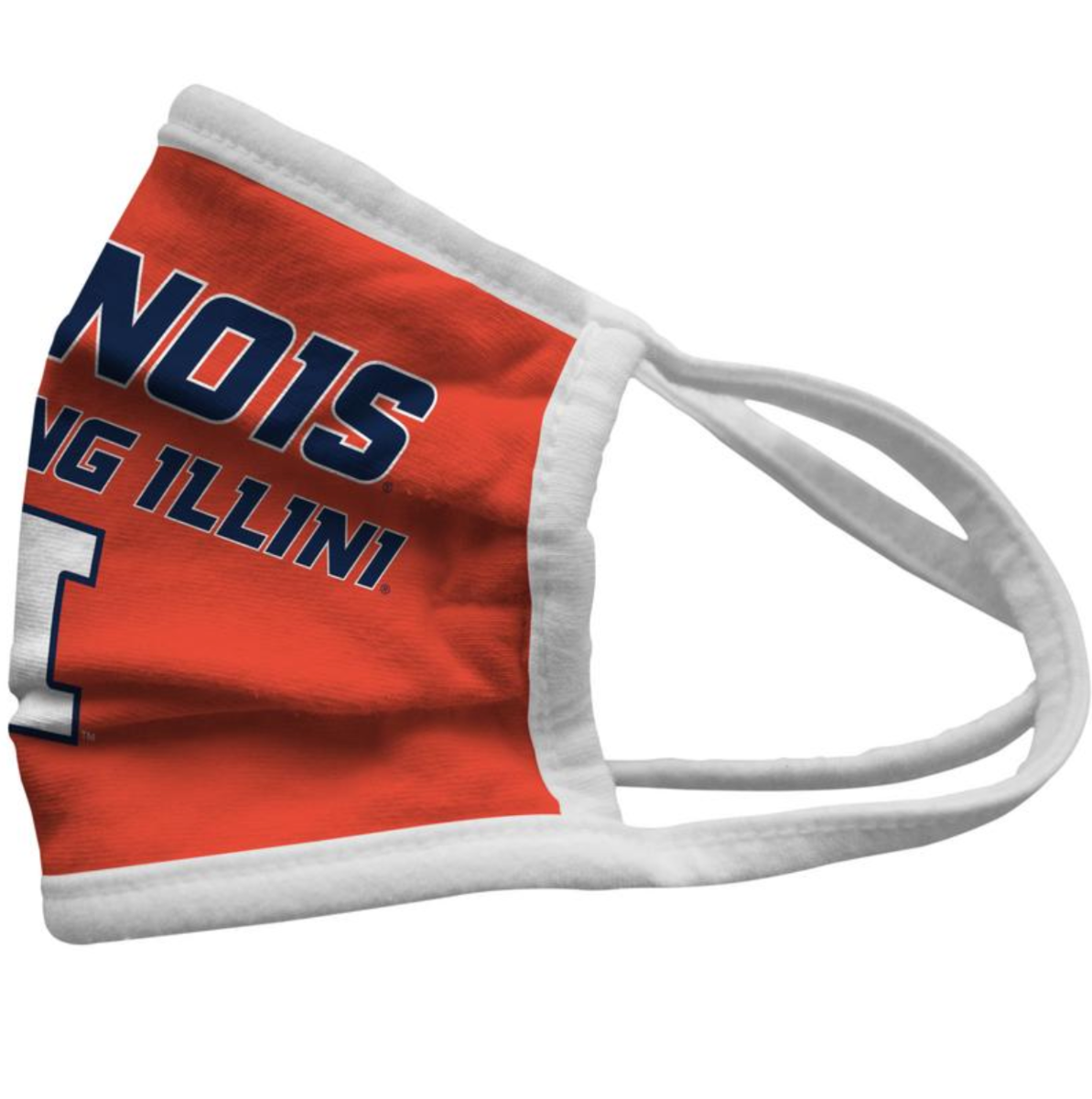 Illinois U of I Face Mask