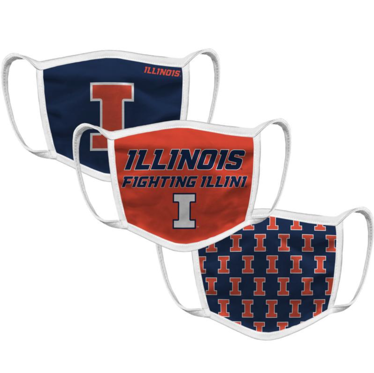 Illinois Face Mask (3 Pack)