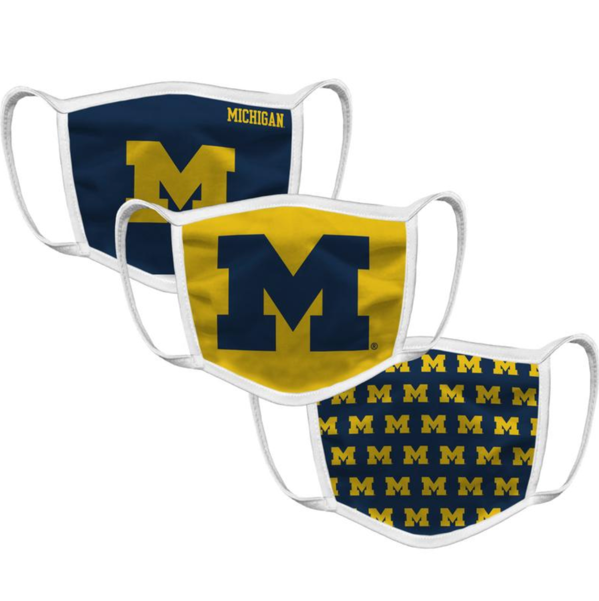 Michigan Face Mask (3 Pack)