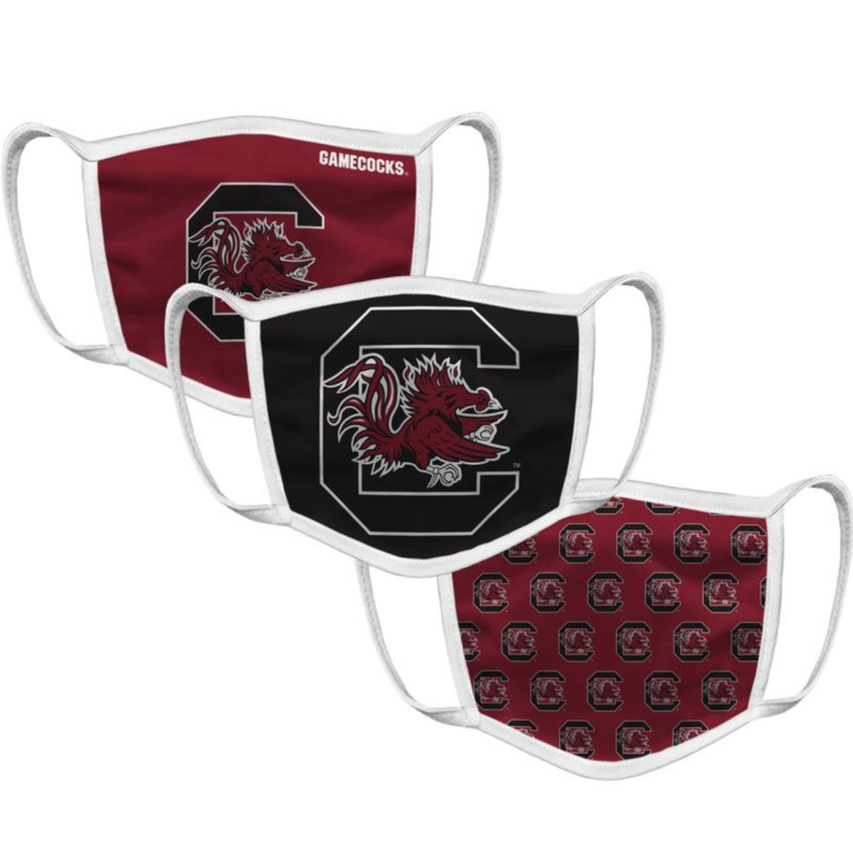 South Carolina Face Mask (3 Pack)