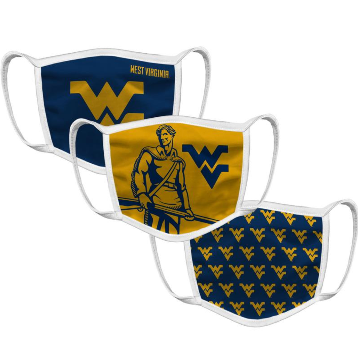West Virginia Face Mask (3 Pack)