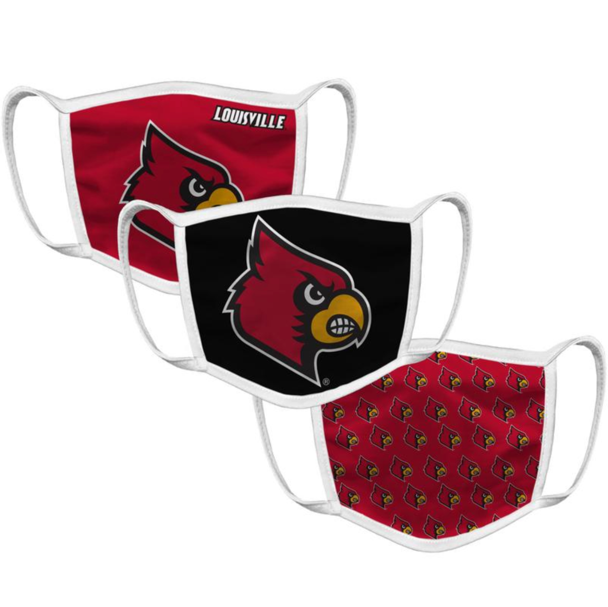 Louisville Face Mask (3 Pack)