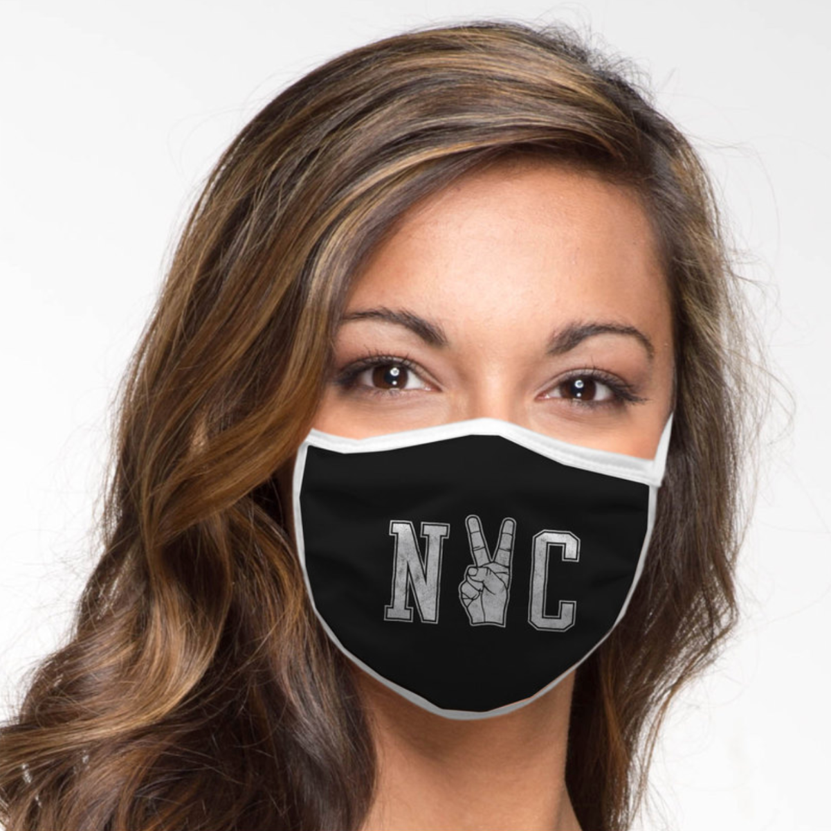 NYC Peace Face Mask