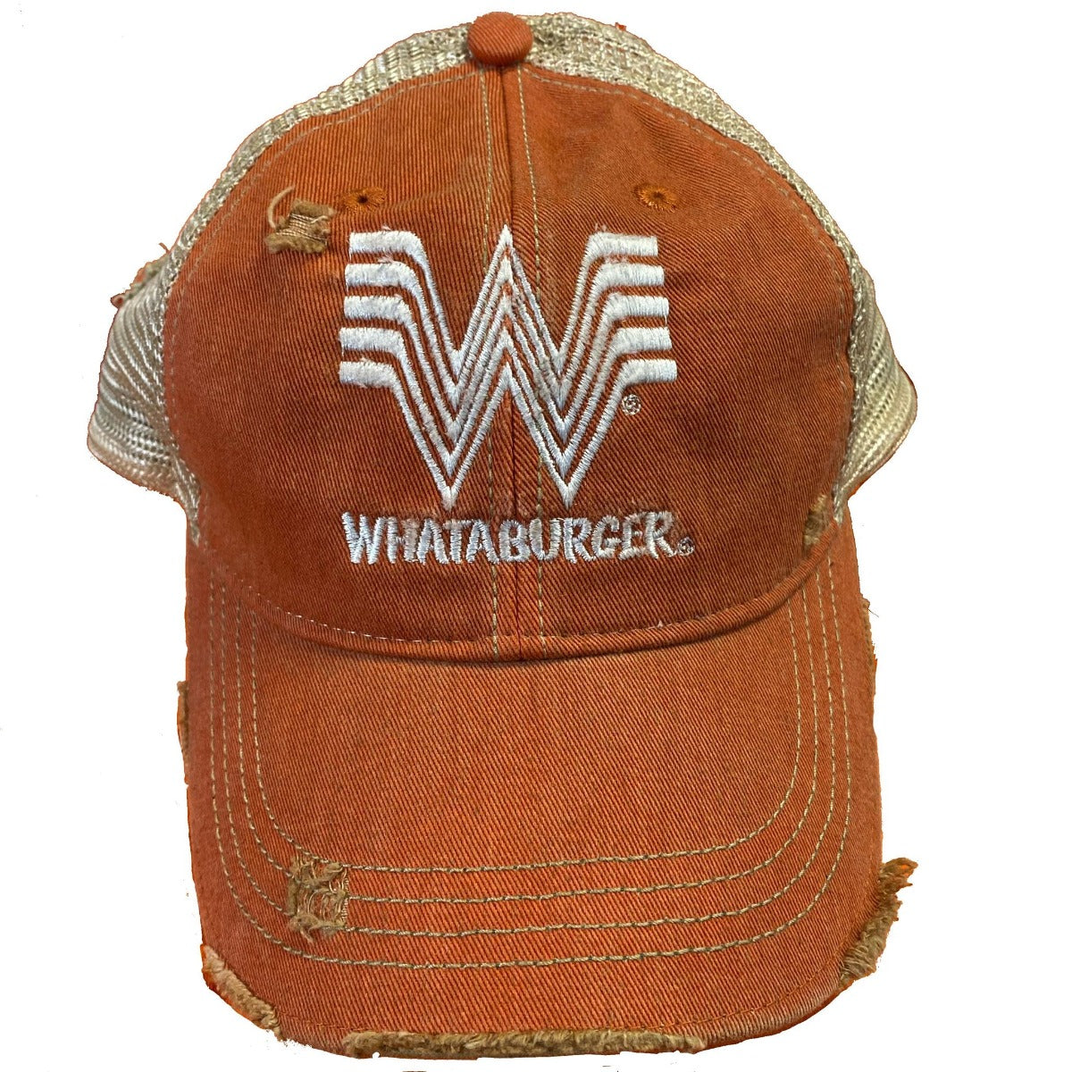 Whataburger Vintage Snap Back Trucker Cap