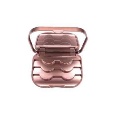 Rose Gold Storage Case - For Us Lashes
