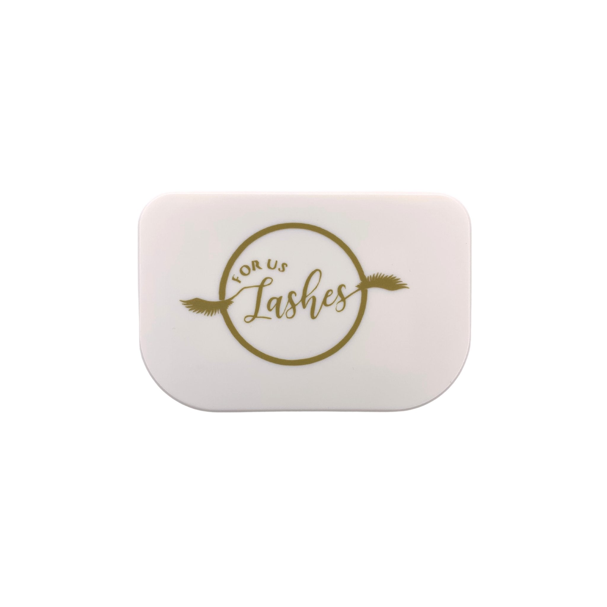 White Storage Case - For Us Lashes