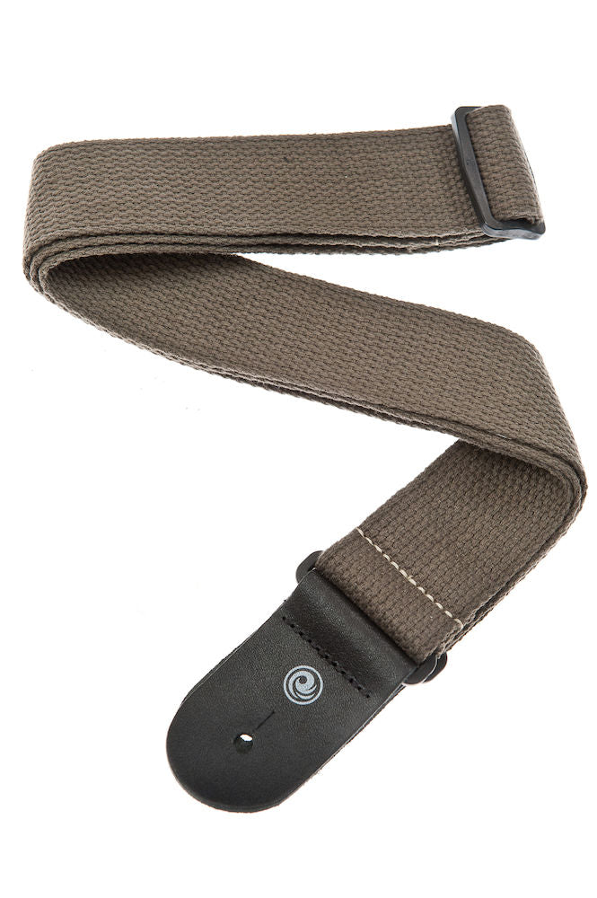 D'Addario Cotton Guitar Strap, Army