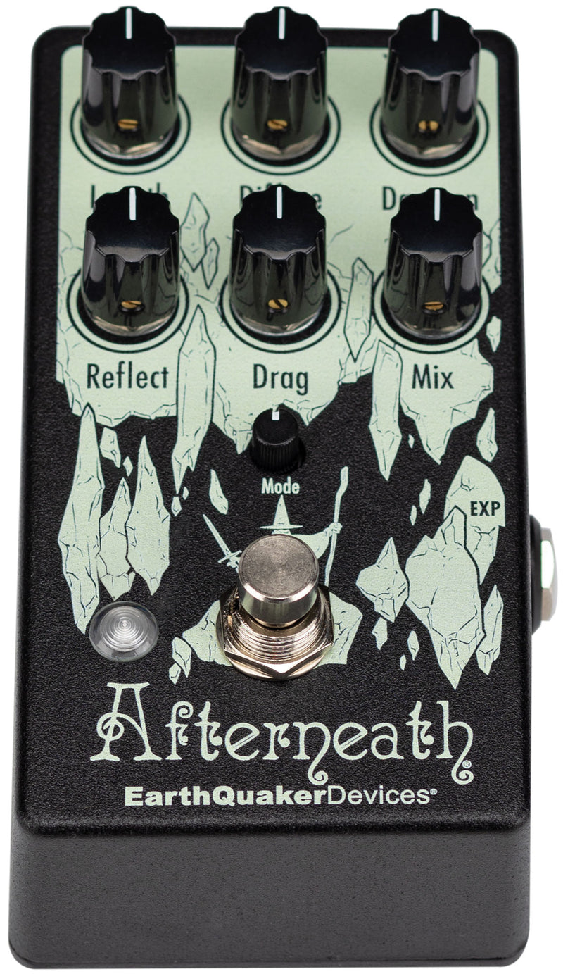 Earthquaker Devices Afterneath V3 Enhanced Otherworldly Reverberation Machine