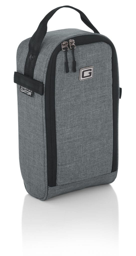 Gator Attachable Guitar Accessory Bag Add-On for Transit Series Grey Gig Bags