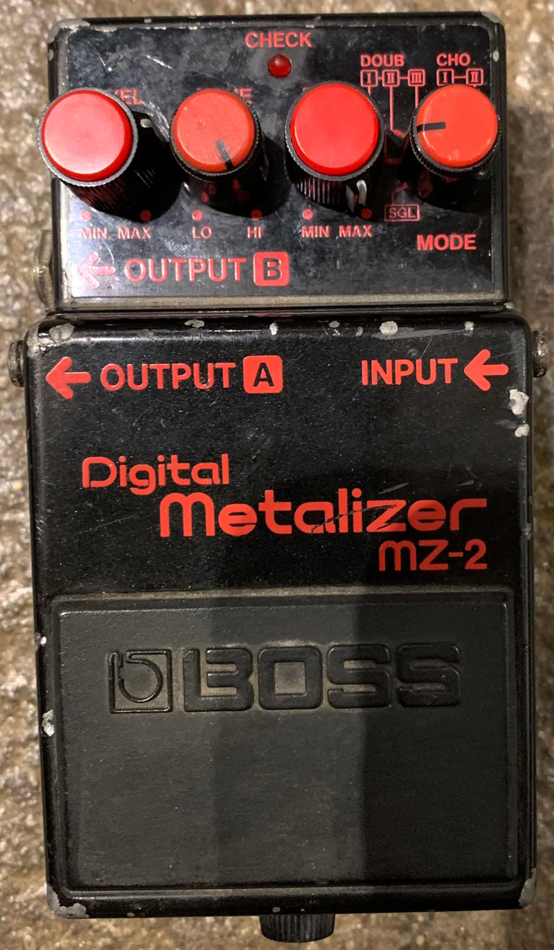 Used MIJ Boss MZ-2 Digital Metalizer