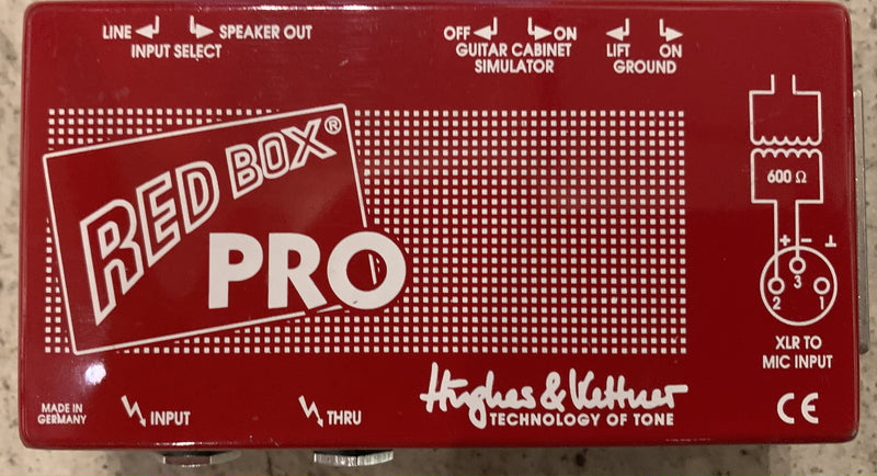 Used Hughes & Kettner Red Box Pro