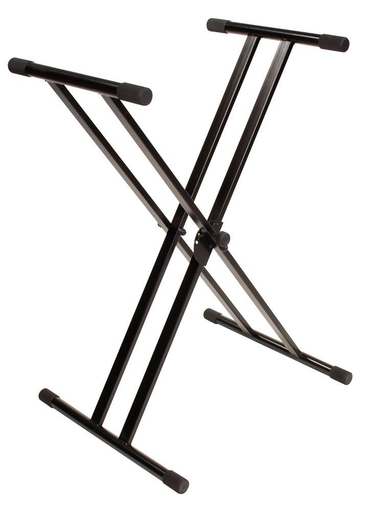 Ultimate Support JS-502D Double Braced X-Style Keyboard Stand