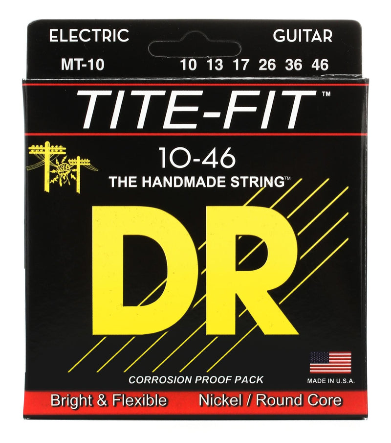 DR Strings MT-10 10-46 Tite-Fit Electric