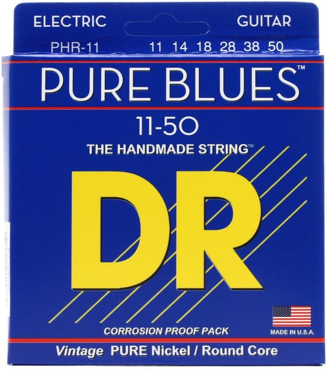 DR Strings PHR-11 Pure Blues 11-50