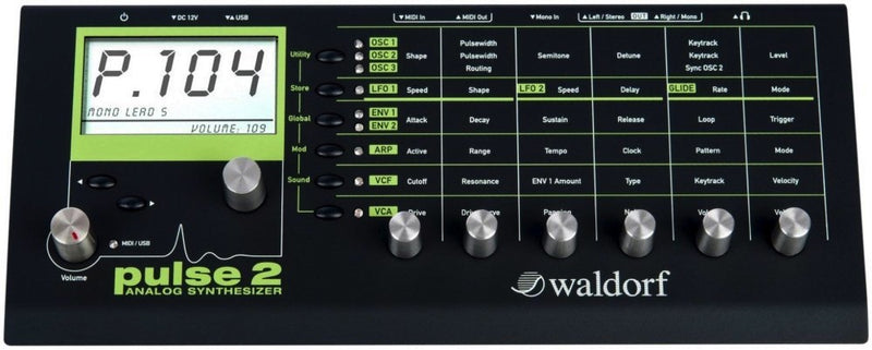 Waldorf Pulse 2 Desktop Analog Mono Synth
