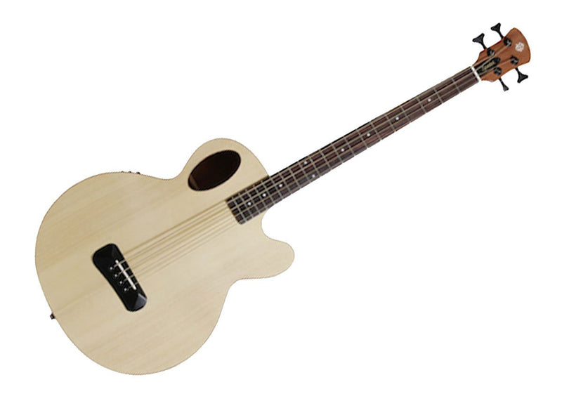 Spector Timbre Acoustic-Electric Bass, Natural Matte