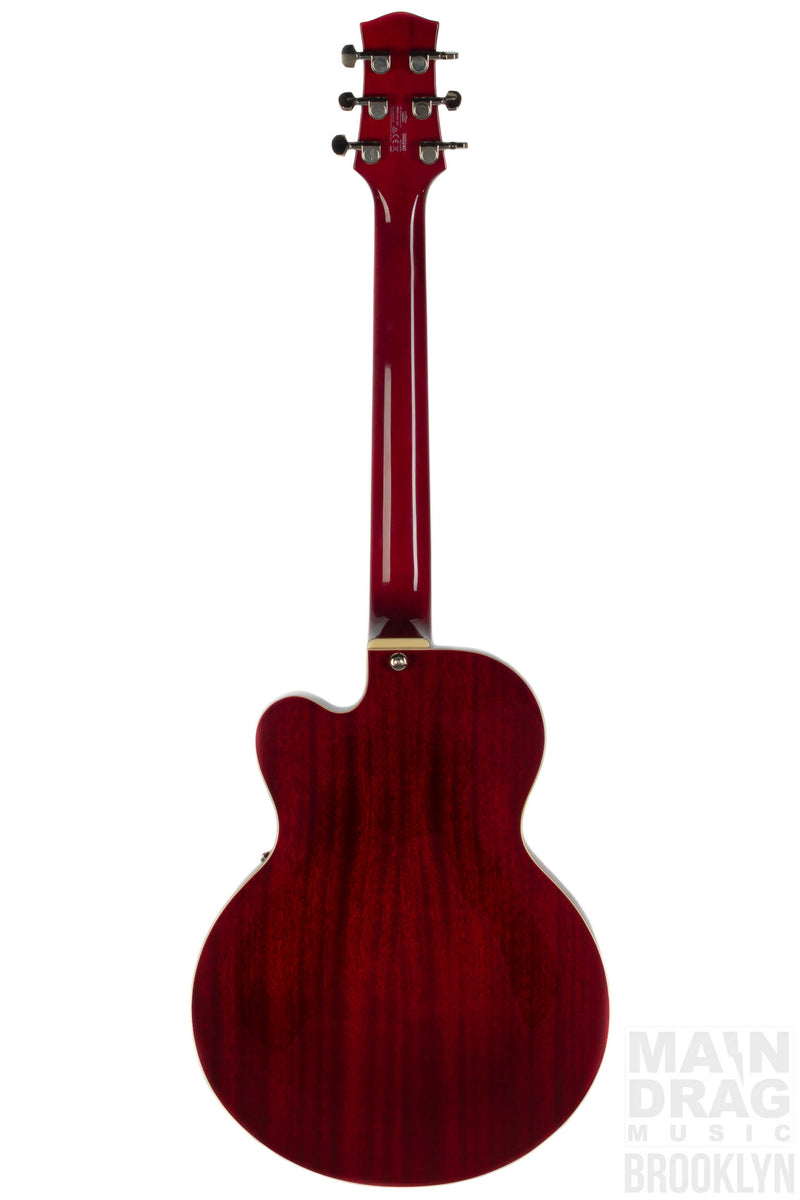 Vox Giulietta Archtop Acoustic, Red