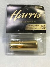 Dunlop 232 Harris Brass Slide, Large