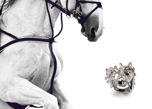 Load image into Gallery viewer, Scheherazade Horse Ring - 18k White Gold
