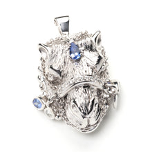 Load image into Gallery viewer, Parizade Camel Pendant  - 18k White Gold