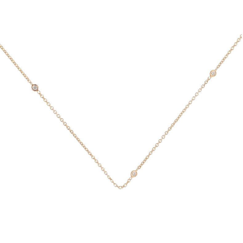 Diamond Chain - 18k Gold