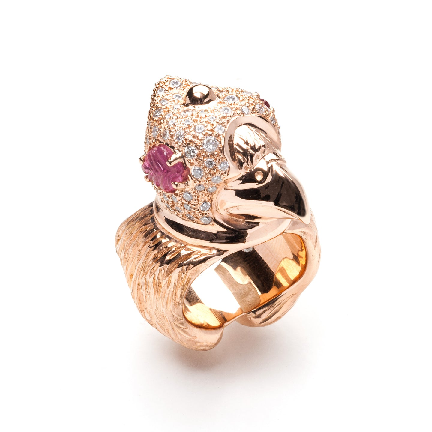 Shahryar Falcon Ring  - 18k Rose Gold