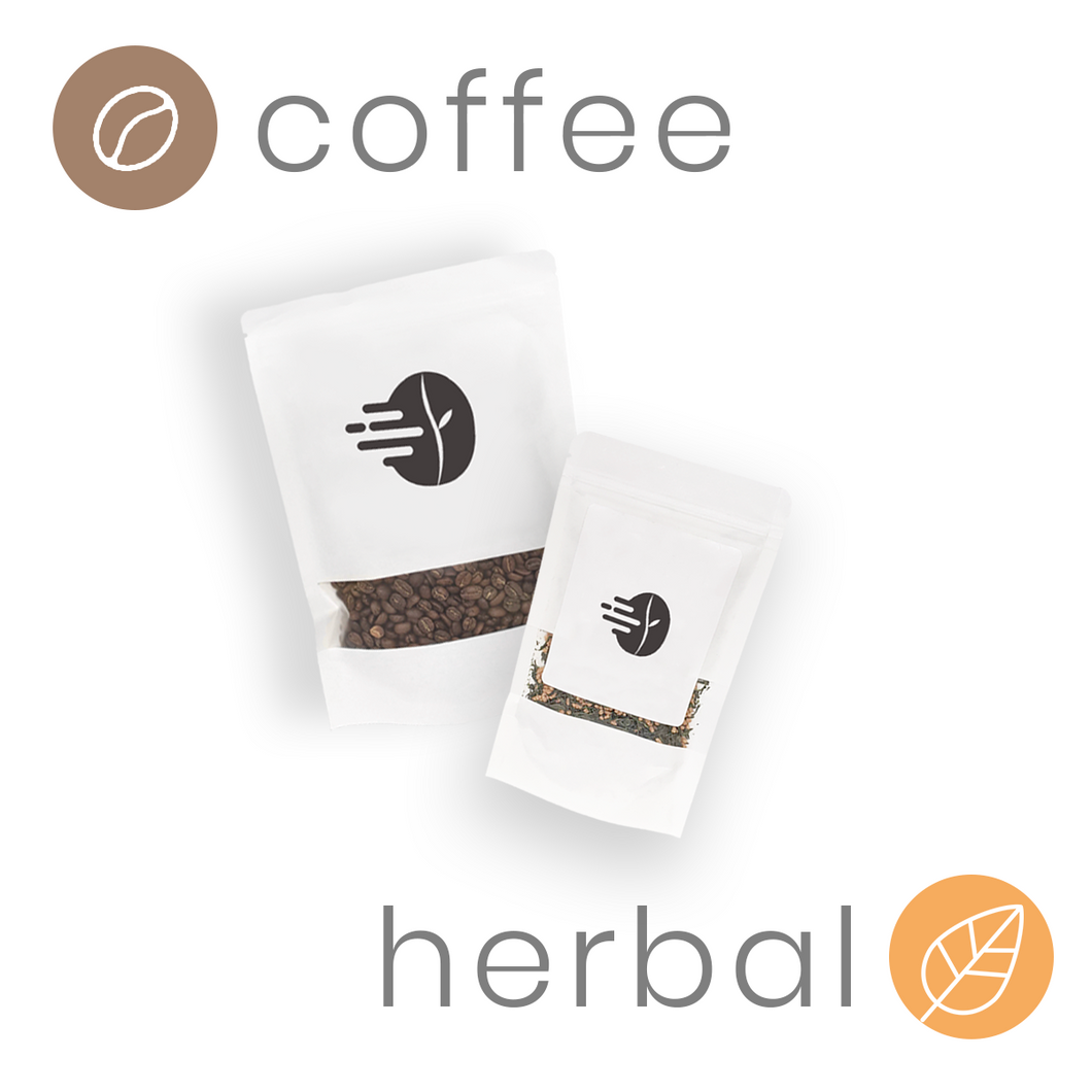 coffee and herbal