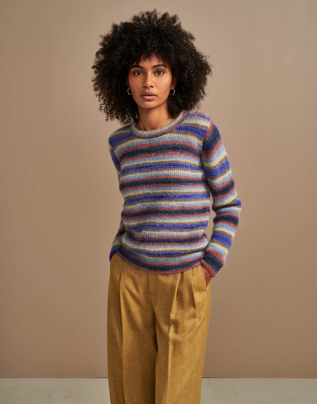 bellerose -woman - ANIVA KNIT SWEATER